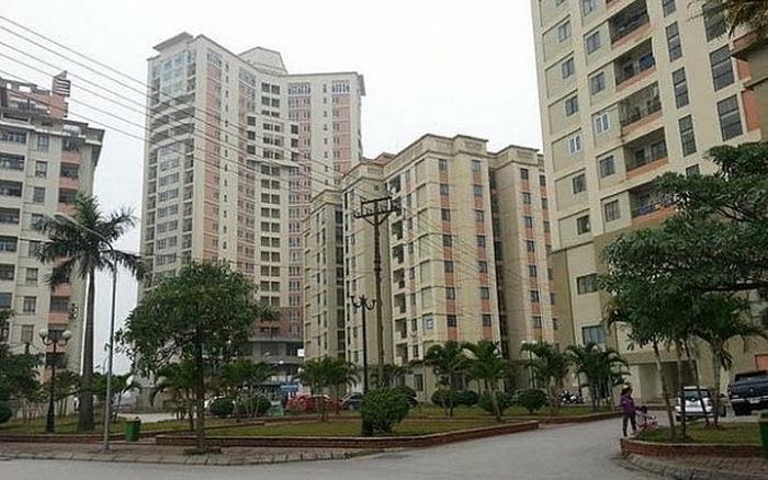 Toà chung cư OCT1 Phạm Văn Đồng khu đô thị resco cổ nhuế 2 Từ liêm