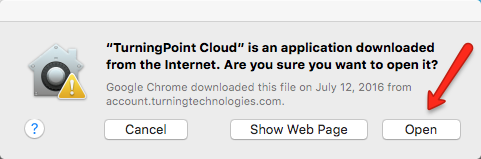 Run TurningPoint Mac