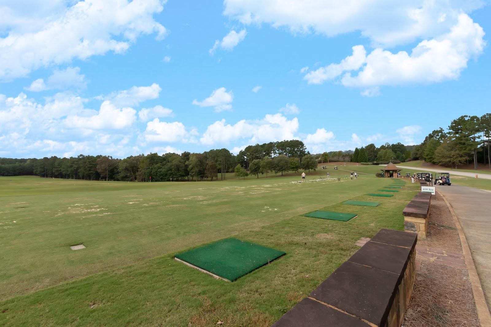 Ballantrae golf tee practice