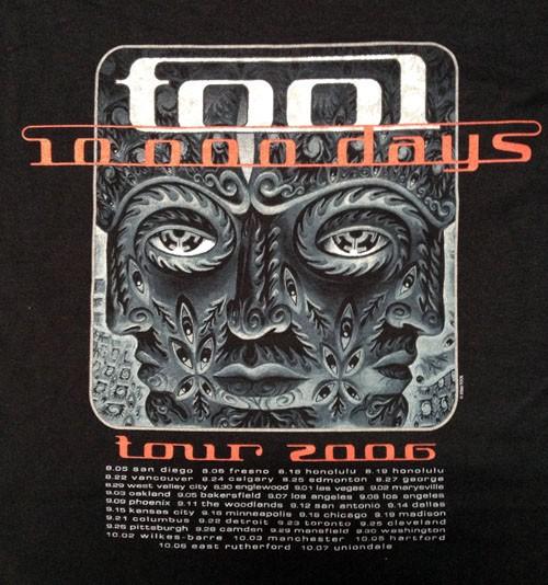 The progressive metal band Tool has featured Grey's artwork