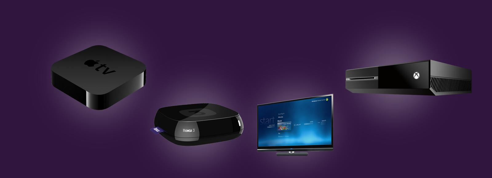 IR Universal Remotes for Apple TV - Xbox One - Roku - Windows Media Center