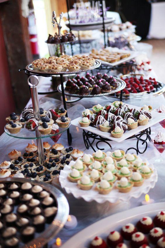 Top 20 Wedding Mini Desserts for 2019 | Deer Pearl Flowers