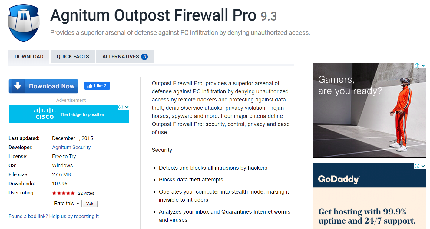 Free Firewall Software