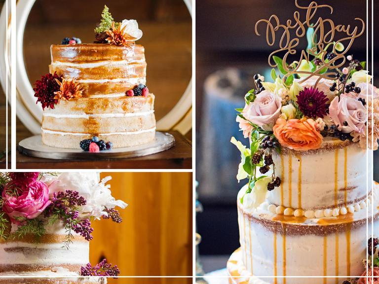 Elegant translucent wedding cakes. TheKnot.com