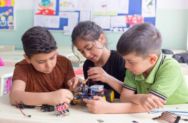 robotics in education teaches teamwork and promotes socialization