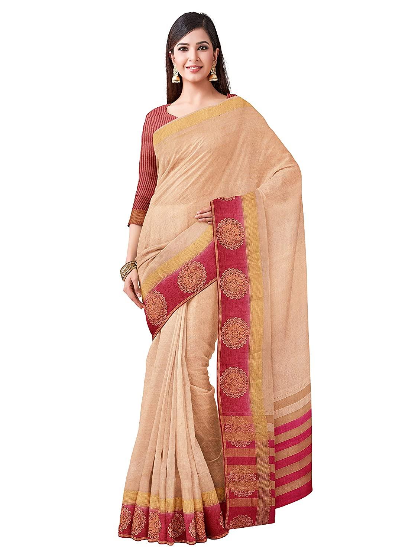 Kanjivaram Style Tussar Silk Saree