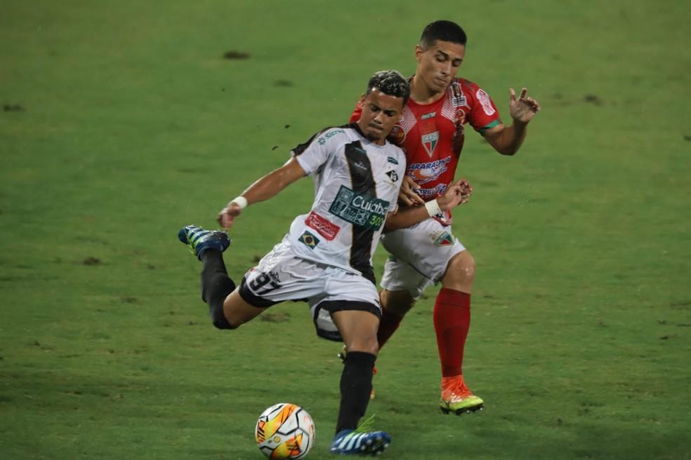 Operário VG e Mixto se enfrentaram na última rodada da 1ª fase  — Foto: Júnior Martins/Assessoria Mixto EC
