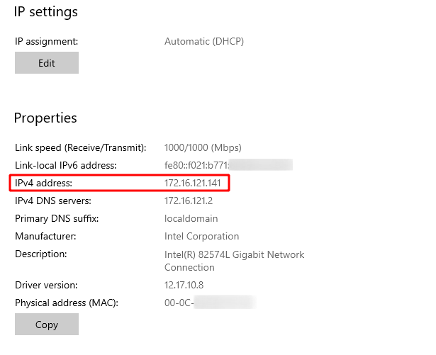 What Is My IP Address Windows Source: nudesystems.com