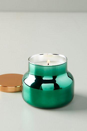 Mini Capri Blue Fir & Firewood Jar Candle