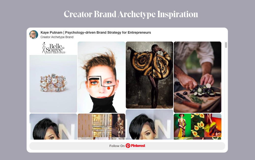 examples of Pinterest images that match