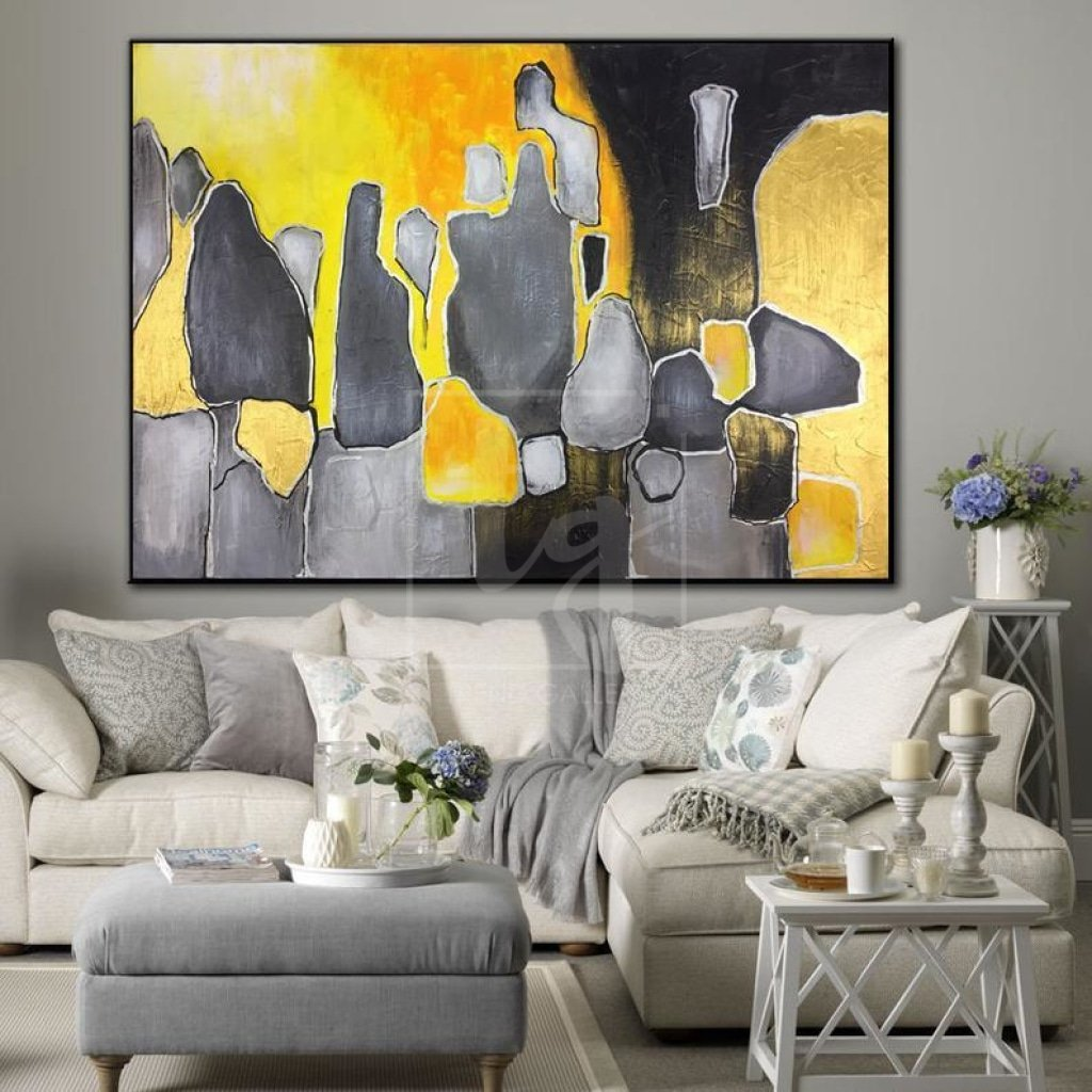 Add Some Complimentary Artwork To Your Living Room