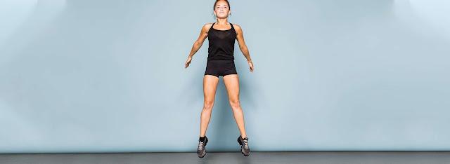 Tập Squat Jump giảm cân