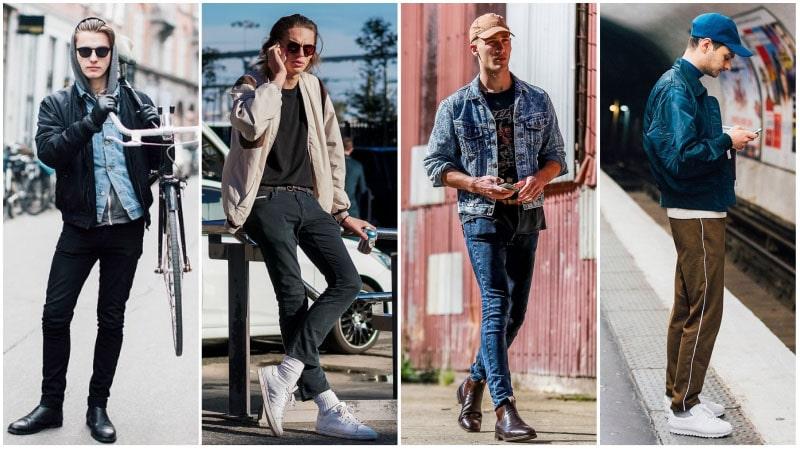 Resultado de imagen para 80s guys with denim jackets