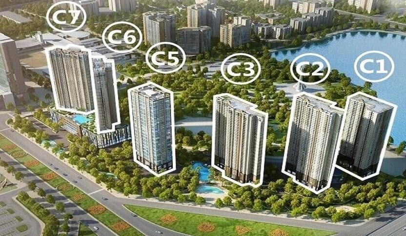 Khu đô thị D'Capitale – Kết hợp không gian sống xanh và hiện đại