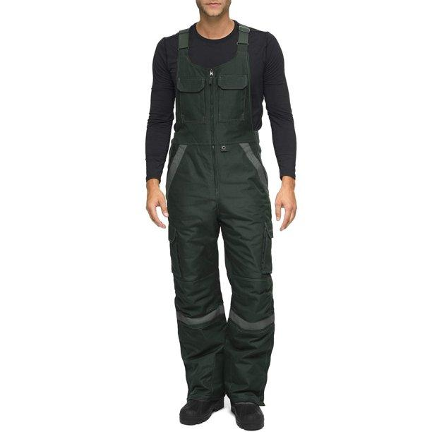 Arctix Men's Tundra Ballistic Bib Overalls With Added Visibility -  Walmart.com - Walmart.com