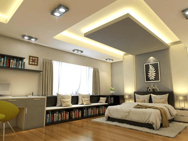 Chọn phong cách thiết kế cho mẫu trần thạch cao phòng ngủ
