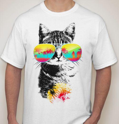принты на футболках фото
