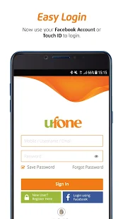 My Ufone App Accoutn Register