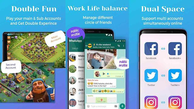 Best apps to create multiple accounts of a single social media app