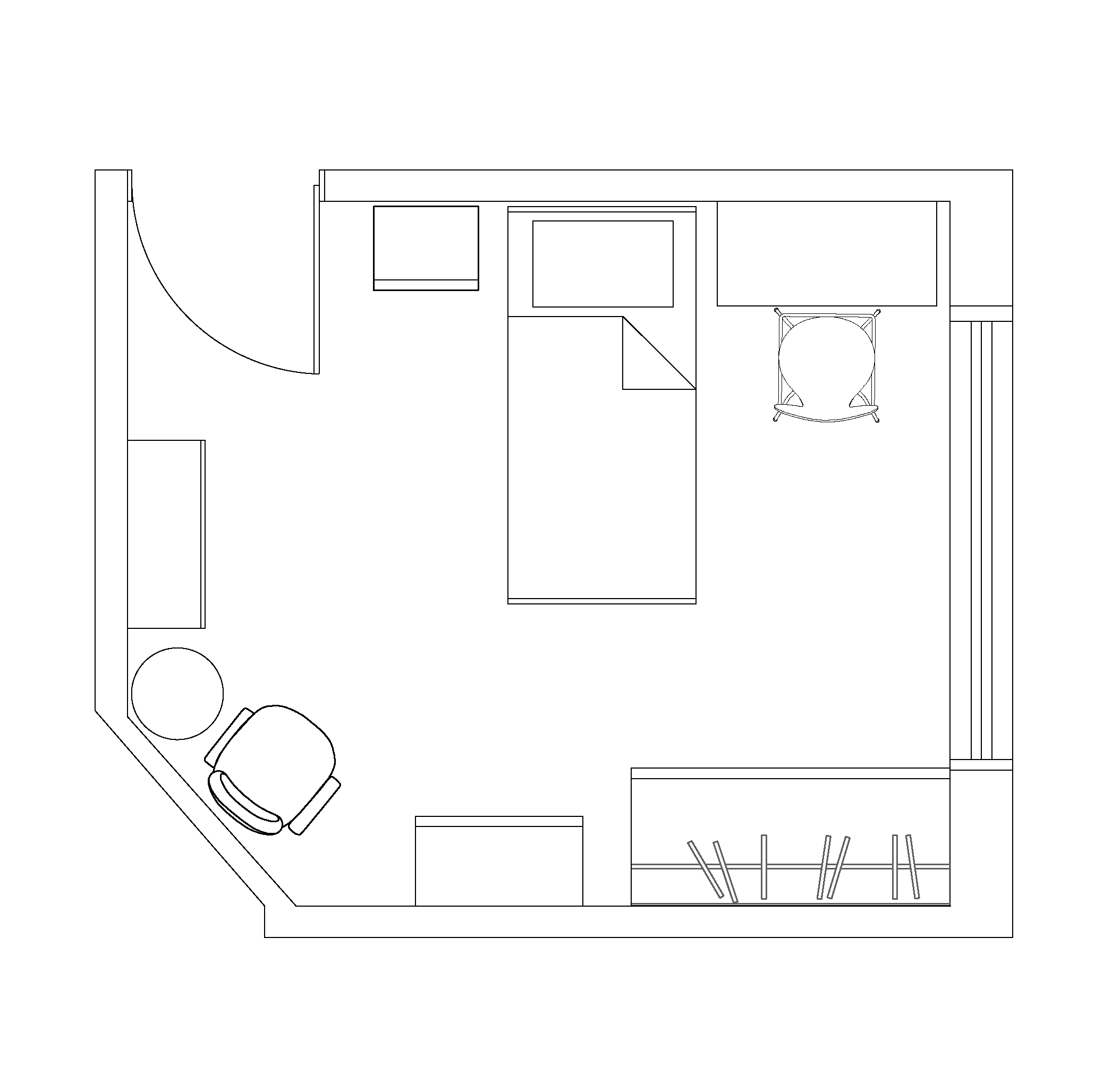 Plan your bedroom layout