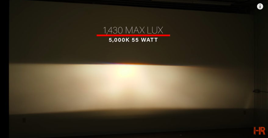 35w or 55w, Which is Brighter? Color Shift and Lux Explained
