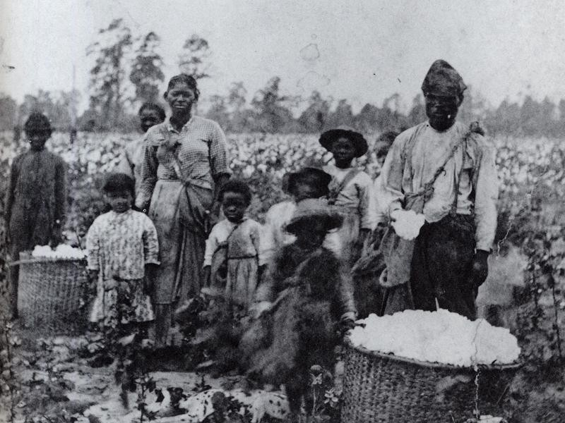 "African sharecroppers post-""Emancipation"""