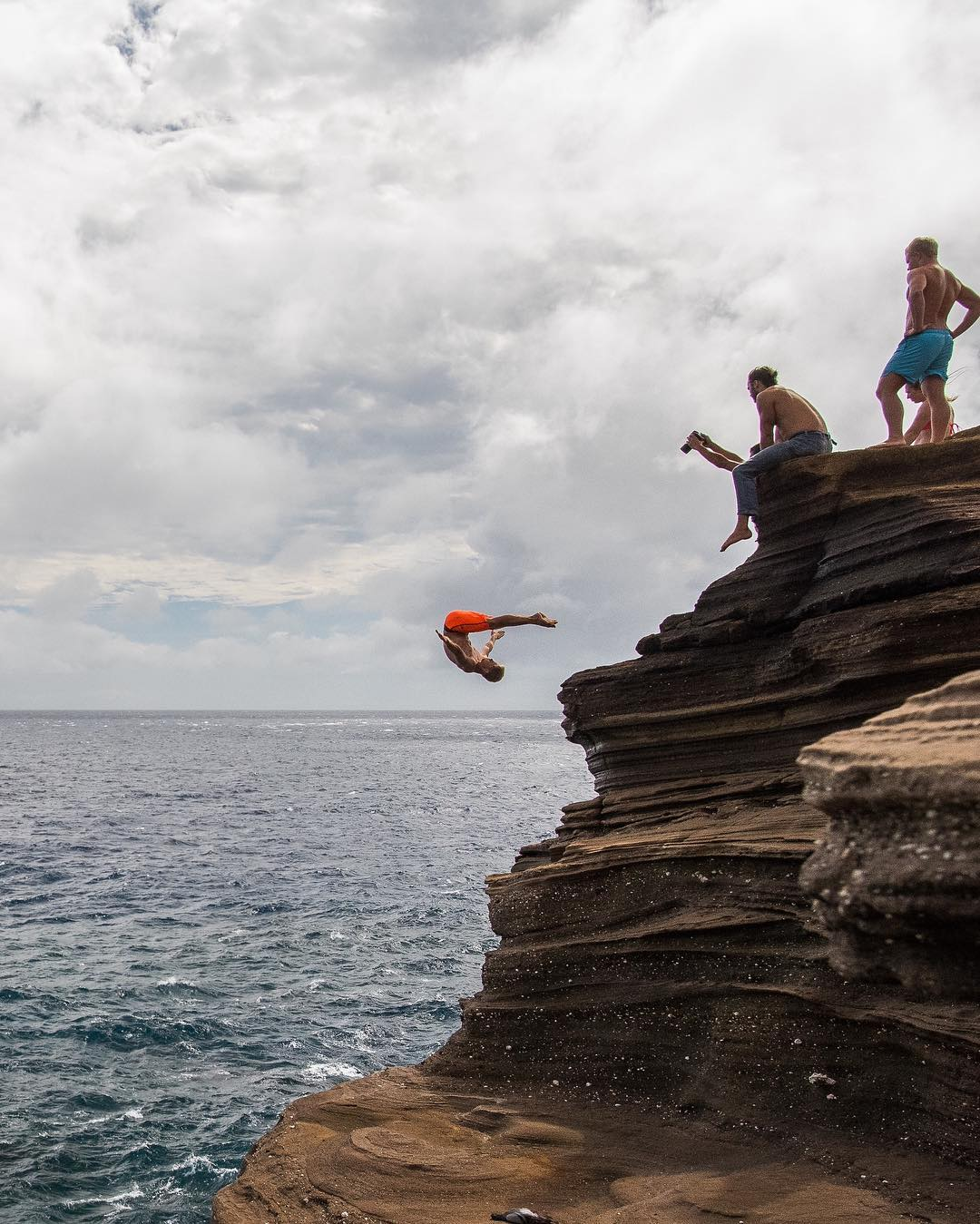 Jump at China Walls (#15 on 26 best things to do on Oahu)