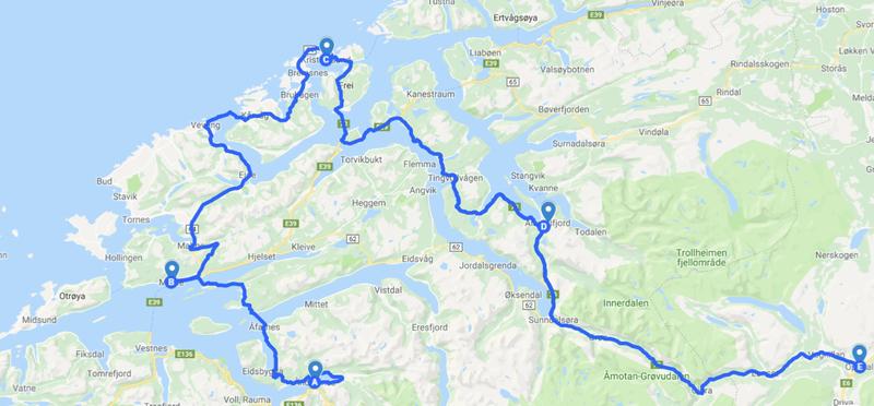 Goboony Atlantic Road Norvegia H2 Road Trip