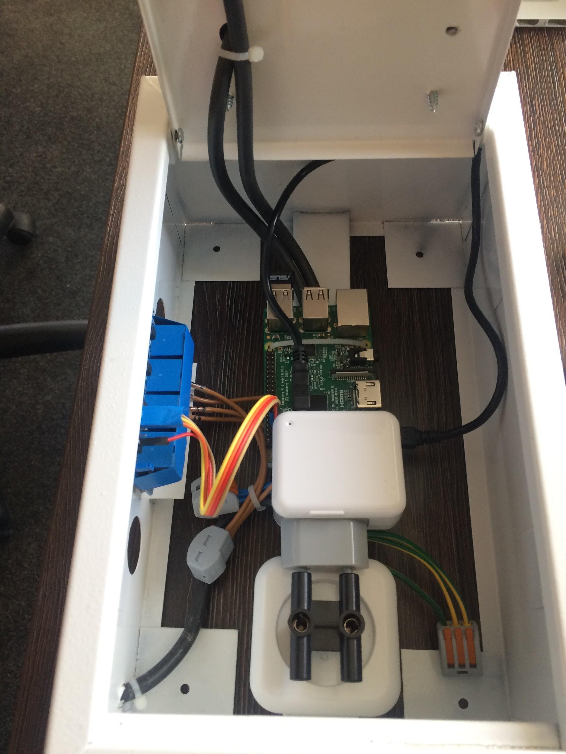 EV prototype wiring