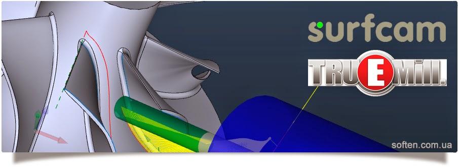 Использование технологии высокоскоростной обработки – TRUEMill при 3 и 5 осевом фрезеровании