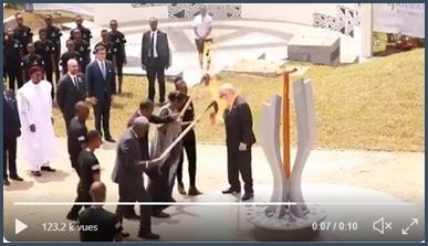 Jean-Claude Juncker manque de brûler la femme du président rwandais