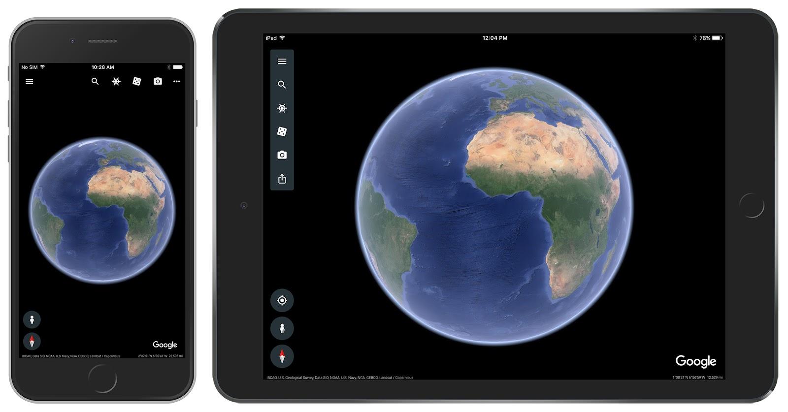 Introducing the new Google Earth for iOS - Google Maps Help on google maps for windows phone, google maps for windows 8, gps maps for ipad, google maps for iphone, google maps for kindle fire, google maps for android, google play for ipad, google maps for car, google drive for ipad, google chrome for ipad,