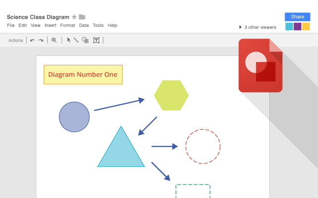 Google Drawings chrome extension