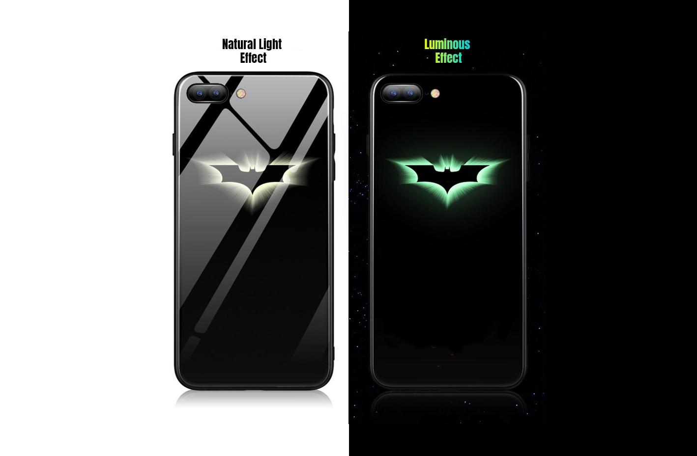 светящийся чехол Batman