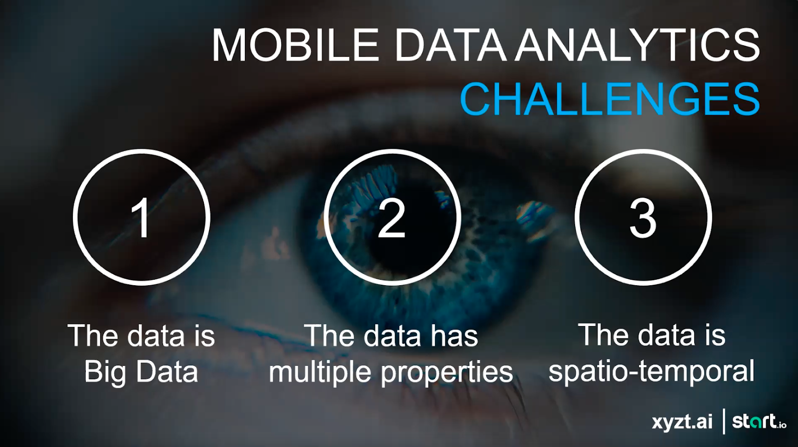 Mobile Data Analytics challenges