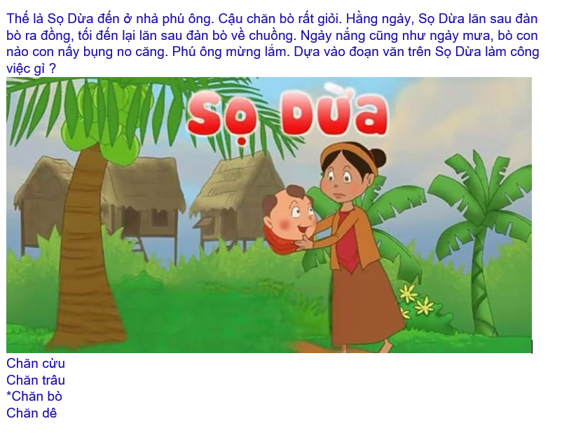 Hình 2.3: Cách soạn thảo câu hỏi có hình ảnh