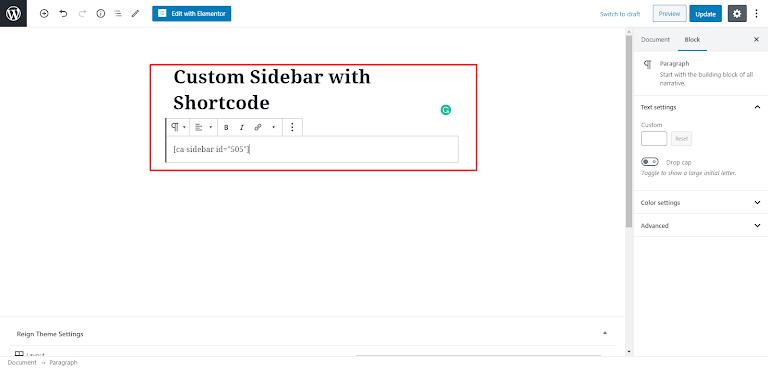 Content Aware Sidebars Plugin