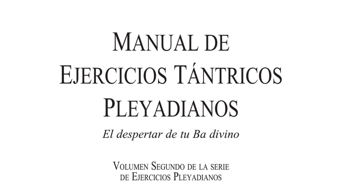 Manual ejercicios t ntricos google drive for Manual de acuicultura pdf