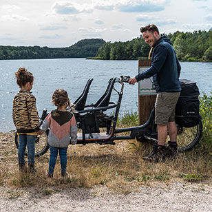 Extra smalle bakfiets