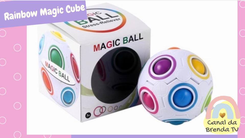 Rainbow magic ball cube