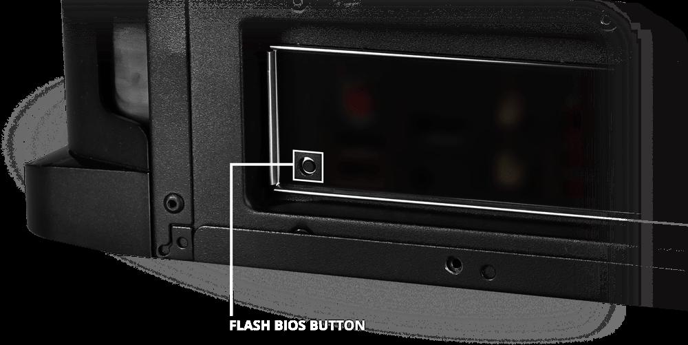 Flash BIOS Button
