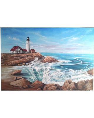 Image result for sea oilpainting small size