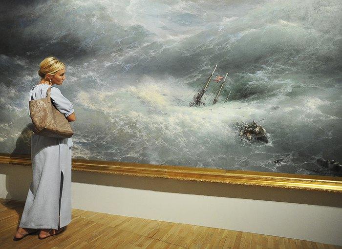 Выставка картин Ивана Айвазовского в Третьяковской галерее