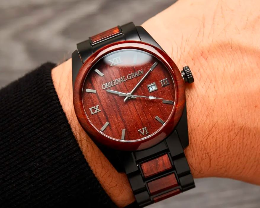 Rosewood Black Classic, Original Grain Watches Review