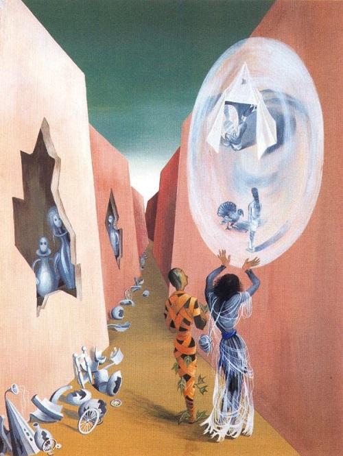 Spanish female artists Remedios Varo
