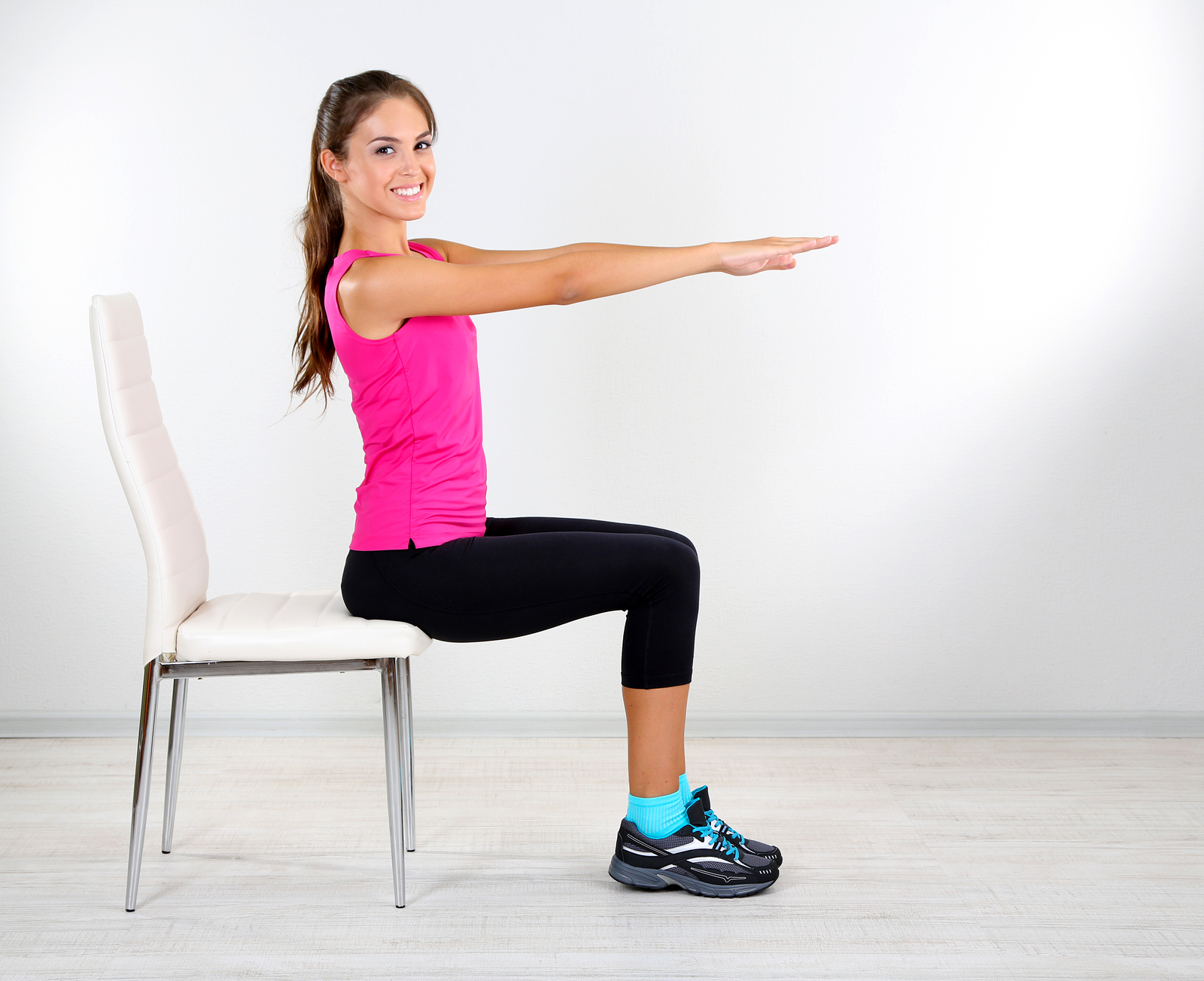 Chair Workouts for Great Legs