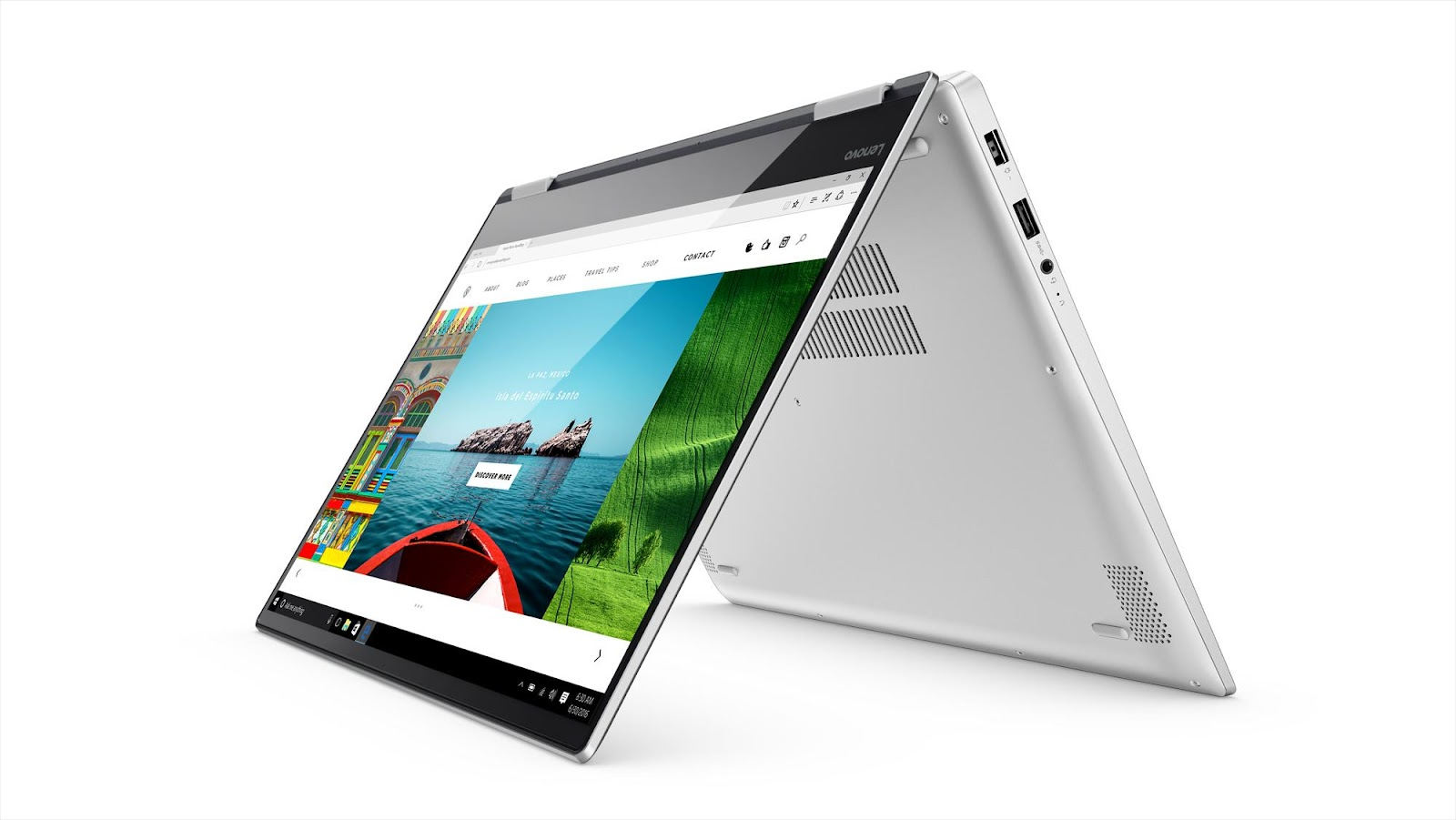 Фото3  Ультрабук Lenovo Yoga 720 Platinum (80X700BFRA)