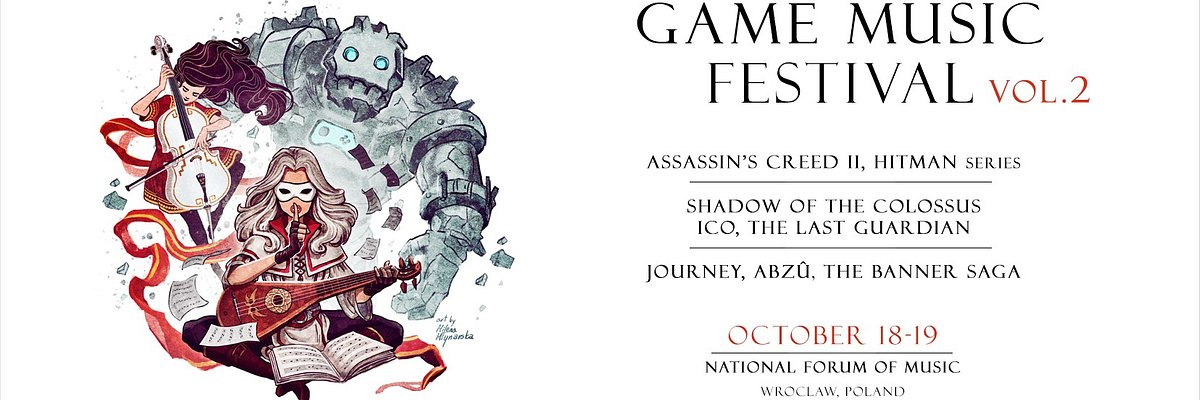 Game Music Festival październik Wrocłąw Narodowe Forum Muzyki