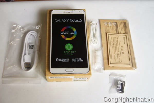 SamSung GALAXY Note 3 (SC-01F)