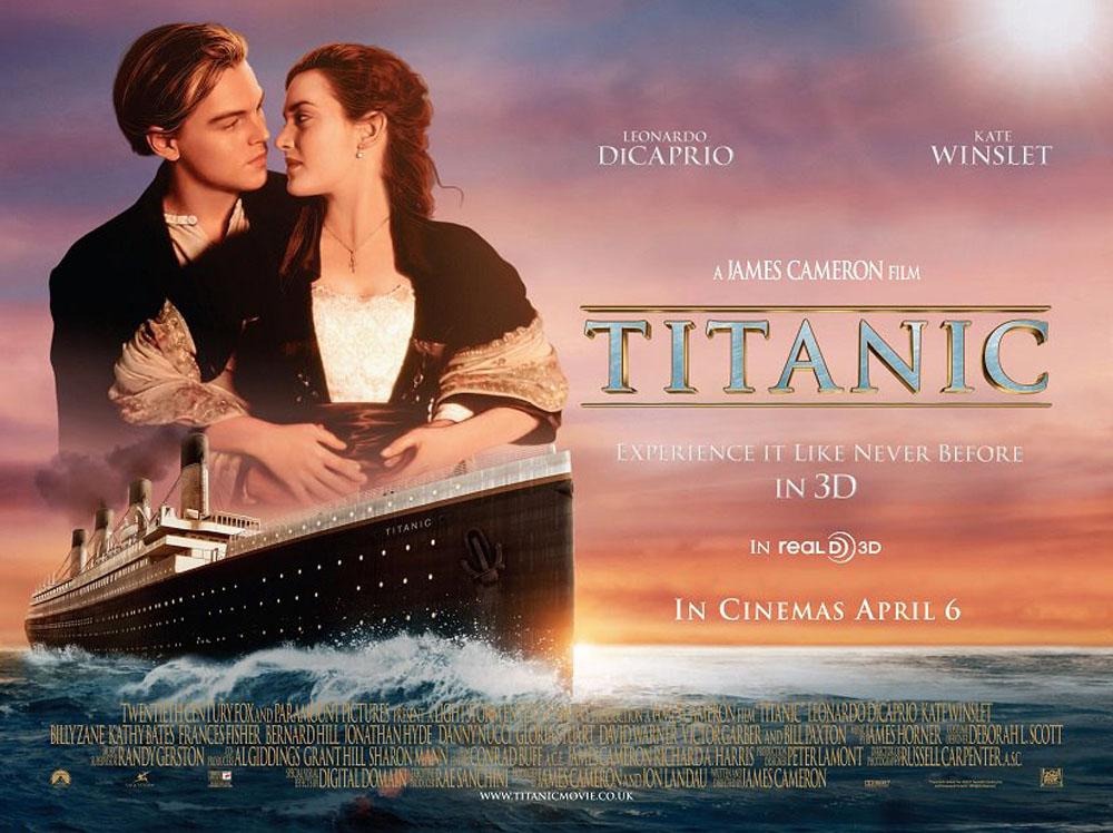 titanic romance movie to watch